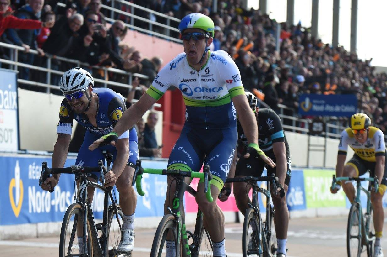 PARIGI-ROUBAIX GOES TO ORICA-GREENEDGE