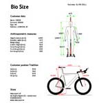 BIO SIZE SOFTWARE CORSA-MTB-TRIATHLON